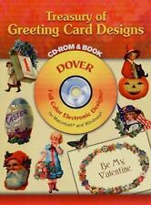 Dover Electronic Clip Art: Treasury of Greeting Card Designs (2006, Paperback)