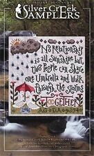 THROUGH THE STORMS SAMPLER-CROSS STITCH CHART-SILVER CREEK SAMPLERS