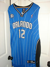 Authentic Dwight Howard Orlando Magic jersey w/ 20th anniversary patch 2009