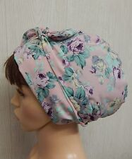 Sleeping head wrap summer head scarf Jewish tichel head wear floral hair scarf