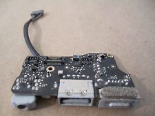 "2011 A1369 13"" MacBook Air MagSafe DC I/O Power Board USB Port & Audio Jack"