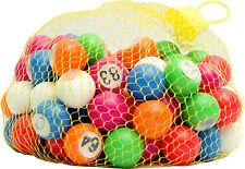 1-90 22mm Bingo Balls for Bingo Cage Machine Or Check Tray