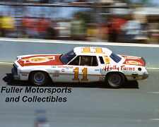CALE YARBOROUGH #11 1975 HOLLY FARMS JUNIOR JOHNSON CHEVY NASCAR 8X10 PHOTO