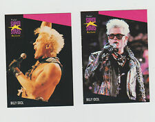 Lot of 2 Billy Idol trading cards Published early 1990s