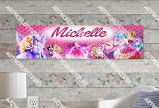 Personalized/Customized Barbie Name Poster Wall Art Decoration Banner