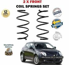 FOR ALFA ROMEO MITO 1.4 T JET 1.3 MULTIJET 2004--  NEW 2 X FRONT COIL SPRING SET