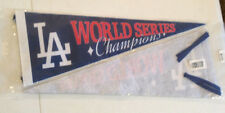 "Dodgers World Series Champions 1988 Exclusive Felt Pennant 23"" x 9"" (75 Made)"