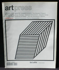 Art Press 195 Peter Phillips Hirschhorn Keita Foucault / Klossowski Sol LeWitt