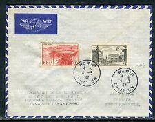 France - Enveloppe par avion de Paris pour Bissao en 1947  réf O 170