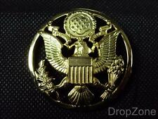 US United States Army Cap Badge - NEW in Packet
