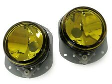 08-10 Mercedes W204 C Class w Sport Pkg OE Replacement Yellow Lens Fog Light Set