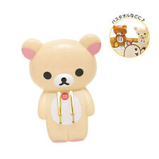 GENUINE SAN-X Rilakkuma Bear Large Plastic Clothing Pegs and Pins, Book Clips!