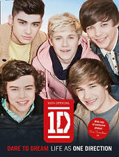 Dare to Dream: Life as One Direction by One Direction New large Print Hard Back