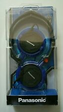 Panasonic Ultra Compact Folding Headphones RP-DJS150 ( Blue)