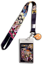 **License** Soul Eater All Characters Group Charm Badge ID Holder Lanyard #37744