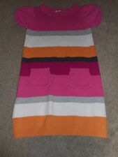"""GYMBOREE GIRLS SWEATER DRESS OR TUNIC TOP SIZE 8 - 24"""" LENGTH STRIPED SS"""
