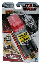Star Wars Speed Stars V-Wing Starfighter Lightsaber Launcher by Hasbro