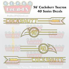 1956 CST40 Cockshutt Tractor 40 Series Vintage Reproduction Decal Set 15 piece