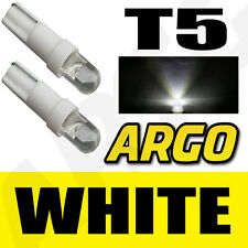 T5 286 LED ULTRA WHITE DASHBOARD LIGHT BULBS XENON HID 12V LAMP  DIALS WEDGE CAR