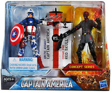 CAPTAIN AMERICA The First Avenger_Arctic Assault CAP_Cosmic Fire RED SKULL 2Pack