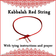 Kabbalah Red String Bracelet protection from evil eye Ben Porat prayer judaism