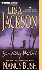 Something Wicked by Lisa Jackson and Nancy Bush (2013, 2013, Abridged, CD) Used