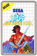 GOLDEN AXE SEGA MASTER SYSTEM FRIDGE MAGNET IMAN NEVERA