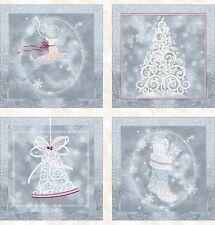 Holiday Elegance Panel Weihnachtsstoffe Patchwork Christmas Stoffe Weihnachten