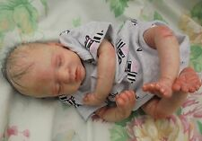"Reborn baby Marley realistic premature baby 14"" 2lb5oz artist painted JosyNN"