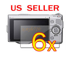 6x Sony Camera NEX-3 NEX-5 NEX-5N NEX-7 NEX-7N LCD Screen Protector Cover Film