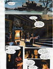 BATMAN MASTER OF THE FUTURE Pg #12 HAND COLORED PRINT GUIDE Barreto, Steve Oliff
