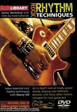 LICK LIBRARY ROCK RHYTHM TECHNIQUES Learn to Play Power Chords Triads GUITAR DVD