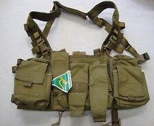 Platatac Khaki Peacekeeper Mk4 Slick Chest Rig