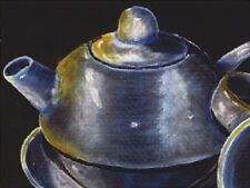 "*Postcard-""The Big Tea Pot/Set""  ...Classic-"