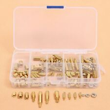 150PCS M2 M3 M4 Column Female Hex Brass Standoff Spacer PCB Screw Nut #M2024 QL