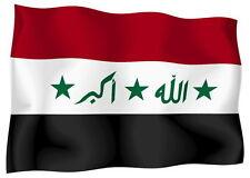 Adesivo AUTO STICKER MOTO AUTO STICKERS Bandiera Bandiera Iraq iracheno