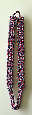 Shoulder Cord Cobra Knot Nylon - Red, White and Blue