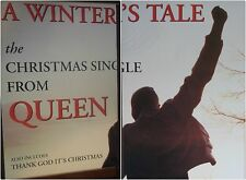 "2-PANEL 80X120"" HUGE SUBWAY POSTERS~Queen 1995 A Winter's Tale Billboard Mercury"