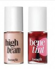 Benefit BENETINT Rose Tinted Lip & Cheek Stain & HIGH BEAM HIGHLIGHTER 4ml MINIS
