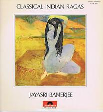 LP CLASSICAL INDIAN RAGAS JAYASRI BANERJEE