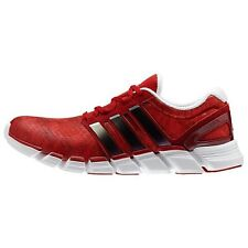 adidas Men's Adipure Crazy Quick Red/Running White/Metallic Silver US 9