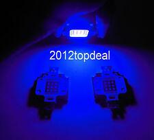 2pcs 10W 445nm-450nm Royal Blue LED 9-12VDC F Aquarium light high power led chip