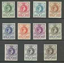 SWAZILAND SG28-38 THE ORIGINAL PERF 13.5X13 SET FRESH MOUNTED MINT CAT £266+