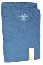 EDDIE BAUER CREW NECK MEN LONG SLEEVE TEE T-SHIRT Heather Lagdon Limited F/S