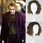 Halloween Batman The Dark Knight Cosplay Wigs DC Comics Joker Men Synthetic Hair