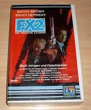 VHS - FX 2 ( FX2 ) Die tödliche Illusion - Bryan Brown - 80er - Videokassette