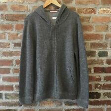 Apolis Global Citizen Gray Alpaca Blend Knit Hooded Sweater Men's Medium M