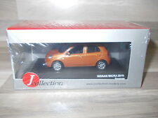 J Collection 1/43 - Nissan Micra van 2010 - Orange - MIB