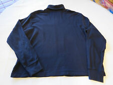 Ralph Lauren Sport Men's long sleeve shirt XL turtle neck cotton navy blue GUC@