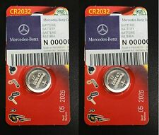 OEM Genuine Mercedes Benz Remote Keyless Key Entry Battery 2-Pack For NEW Style